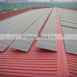 pitched roof pv solar mounting bracket anodized aluminium frame for pv solar module structure