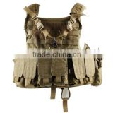 MOLLE tactical bulletproof military assault gear vest armour waistcoat CL4-0029Tan for paintball hunting