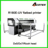 DX5 optional 1800cm*3000mm small format uv flatbed printer