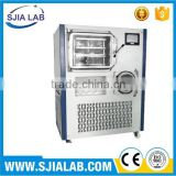 SJIA-100F SJIALAB High Efficiency Freeze Dryer Price/Food Freeze Dryer Price/Fruit Drying Machine                                                                                                         Supplier's Choice
