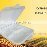 biodegradable disposable take away 8 inch food container