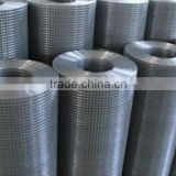 25mm holes 1mm galvanized wire 1m * 25m rolls Galvanized/PVC coated Welded Wire