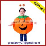 China Wholesale Cute baby girl anime kids pumpkin cosplay costumes for sale