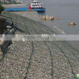 Galvanized river bank protect gabion basket/Stone cage net