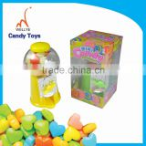 pucker powder 12 flavour candy dispenser/candy dispenser toy/plastic candy dispenser