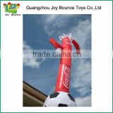 New design inflatable desktop air dancer product /sky dancer with football