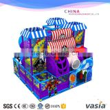 Amusing children colorful theme indoor soft play equipment/kids maze game with ball pool