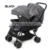 Best-sell lightweight cheapest prams baby double stroller