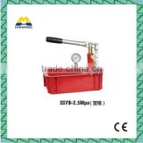 manual water pressure test pump with cost price