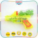 Most popular small plastic water gun candy toy with jelly bean                                                                                                         Supplier's Choice
