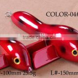 chuangfeng lure/hardbait/wooden bait,bird lure,trolling lure,size 100mm 150mm