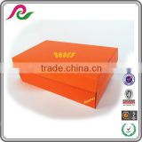 INQUIRY about Custom flap cover corrugated shoe box