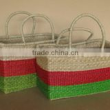 Shopping Seagrass Basket Set of 2 With Handles