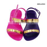 Wholesale Baby Girl Jelly Nude Sandal PVC Fahion Kids Sandals