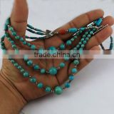 Prayer Of My Heart !! Coral & Turquoise 925 Sterling Silver Necklace, Silver Jewelry Exporter, Silver Jewelry Wholesale