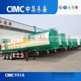 ADR / ISO Certificate Approved Oil Tanker, 3 Axle Transport Fuel Tank Trailer Water Storage