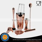 Custom Coating Cocktail Shaker Gift Set Wholesale Barware                                                                         Quality Choice