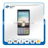 NFC Andriod mobile pos payment terminal with pda barcode scanner android free SDK--H-S1000