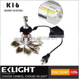 Emark/ce/tuv approved high lumen universal car 9005 9006 h7 h11 h4 10000 lumen led headlamp