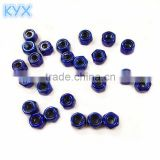 billet machined rc car nuts rc accessories M2.5 nut blue