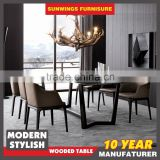 can oem 10years experience modern 8 seater marble dining table