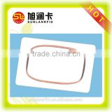 passive readable and writable plastic 125KHz T5577 chip inlay for rfid card