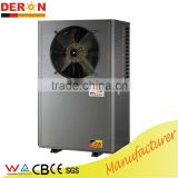 High Quality CE portable air water hot water heat pump R410a scroll, floor heaing/ air cooling option