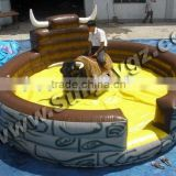 2016 hot sale Inflatable mechanical rodeo bull,mechanical bull for sale