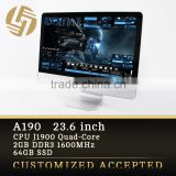 New Computer Product 23.6 Inch IPS LCD Low Price All In One Barebone pc