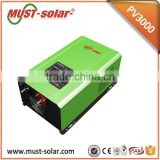 Off Grid Solar Hybrid 24v 230v 50Hz 3000W Inverter with MPPT Solar Charger and AC Charger