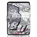 Top Selling Durable Various patterns World map tablet case For Amazon Kindle paperwhite 3/2/1 fast delivery