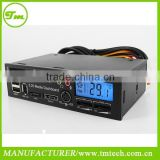 5.25inch USB 2.0 Media Dashboard Multi-Functional Panel for USB MMC SD SATA Card Reader 525A