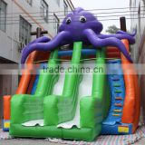 Best quality giant inflatable octopus commercial inflatable slide giant adult inflatable slide