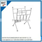 Portable steel wire cross shelf newspaper magazine display rack/atm/shopping/china suppliers/new products
