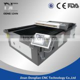 Jinan donglian High precision and gold quality price 1630 cnc laser cutting machine with dust cover