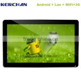 Smart android small electronic displaywifi backlit sign advertising display(SAD1902W)