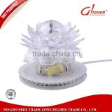 New style High Quality LED Lotus Full Color revolving Lamp LED Crystal Rotating RGB Sunflower Stage Effect Lighting