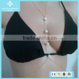 Fashion Pearl Body Chain Jewelry For Women