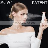 Ms.W Portable Nano Sprayer Face Sauna Steamer Home Use Rechargeable Beauty Facial Steamer