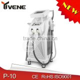 2.6MHZ Beauty Salon Equipment Skin Armpit / Back Hair Removal Tightening Home Use Machine Ipl Portable