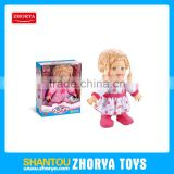 Hot sale cheap battery operated musical toy doll baby shaking walking infant baby dolls