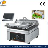 Very popular electrical grill sandwich maker/ breakfast sandwich making machine for sale