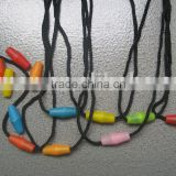 Plastic pop cord lock,plastic safety buckle,plastic clasp for necklace