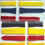 Silicone wristband for watch