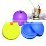 Hot selling silicone ice ball mould for making cake or ice cream
