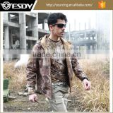 ESDY Tactical Military Waterproof Coat Camo Softshell Outdoor Winter Hunting Jacket