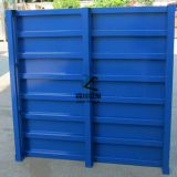 Recyclable Blue Stainless Steel Pallet Hot Dip Galvanized 2000kg