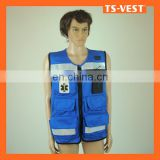 Safety Vest Multi Pockets Fish Equipment For Fishing