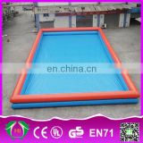 HI commercial outdoor giant rectangular inflatable water pool for Hand Boat,Bumper boat,water walking ball