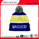 Top quality OEM/ODM selling pom beanie winter hat